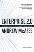 Enterprise 2.0 1st Edition 9781422125878 1422125874