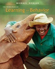 The Principles of Learning and Behavior 6th edition 9780495601999 0495601993