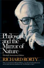 Philosophy and the Mirror of Nature 30th edition 9780691141329 0691141320