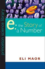 """e:"" The Story of a Number 1st Edition 9780691141343 0691141347"