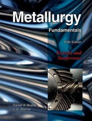 Metallurgy Fundamentals 5th Edition 9781605250793 1605250791