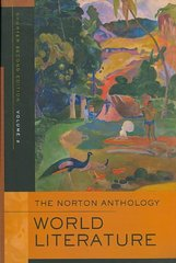 The Norton Anthology of World Literature 2nd edition 9780393933031 0393933032