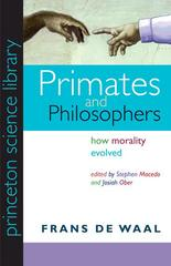 Primates and Philosophers 1st Edition 9780691141299 0691141290