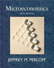 Microeconomics 5th Edition 9780321558497 0321558499