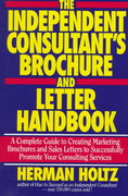 The Independent Consultant's Brochure and Letter Handbook 1st edition 9780471597339 0471597333