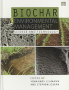 Biochar for Environmental Management 0 9781844076581 184407658X
