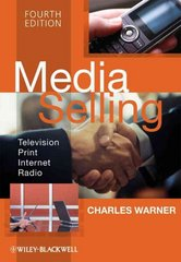 Media Selling 4th Edition 9781405158398 1405158395