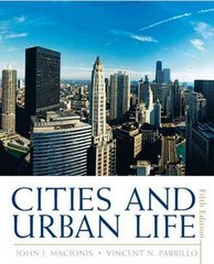 Cities and Urban Life 5th edition 9780205645336 020564533X