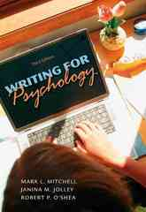 Custom Enrichment Module: Writing for Psychology 3rd edition 9780495597810 0495597813