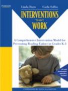 Interventions that Work 1st Edition 9780132458757 0132458756