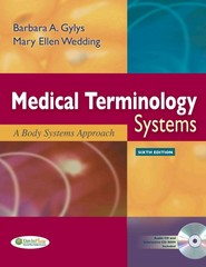 Medical Terminology Systems 6th edition 9780803623064 0803623062