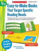 Easy-to-Make Books That Target Specific Reading Needs 0 9780439438292 0439438292
