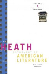 The Heath Anthology of American Literature 6th edition 9780547201948 054720194X