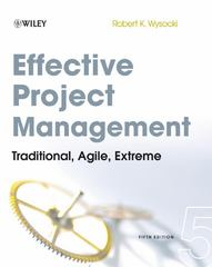 Effective Project Management 5th Edition 9780470423677 0470423676