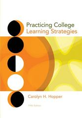 Practicing College Learning Strategies 5th edition 9780547199962 0547199961