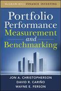 Portfolio Performance Measurement and Benchmarking 1st edition 9780071713665 0071713662