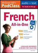McGraw-Hill's PodClass French All-in-One Study Guide (MP3 Disk) 1st edition 9780071627627 0071627626