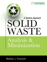 Solid Waste Analysis and Minimization: A Systems Approach 1st Edition 9780071605243 007160524X