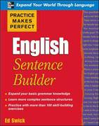 Practice Makes Perfect English Sentence Builder 1st edition 9780071599603 0071599606