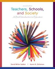 Teachers, Schools, and Society Brief with Reader 2nd edition 9780077294588 0077294580