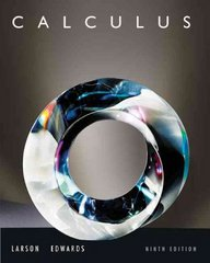 Calculus 9th edition 9780547167022 0547167024