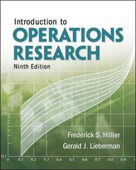 Introduction to Operations Research 9th edition 9780073376295 0073376299