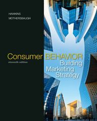 Consumer Behavior 11th edition 9780073381107 0073381101