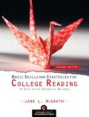 Basic Skills and Strategies for College Reading 2nd edition 9780205723317 0205723314
