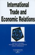 International Trade and Economic Relations in a Nutshell 4th edition 9780314195203 0314195203