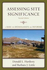 Assessing Site Significance 2nd Edition 9780759111271 0759111278