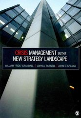 Crisis Management in the New Strategy Landscape 0 9781412954136 1412954134