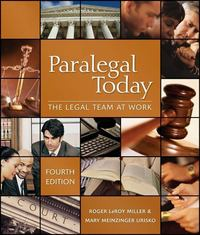 Paralegal Today 4th edition 9781435438774 1435438779