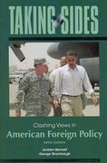 Taking Sides: Clashing Views in American Foreign Policy 5th Edition 9780073545646 0073545643