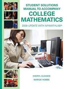 Student Solutions Manual for College Mathematics 8th edition 9780135025239 0135025230