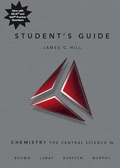 Student's Guide for Chemistry 11th edition 9780136002642 0136002641
