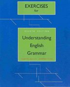 Exercise Book for Understanding English Grammar 8th edition 9780205626885 0205626882