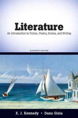 Literature 11th edition 9780205698813 0205698816