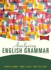 Analyzing English Grammar 6th edition 9780205685943 0205685943