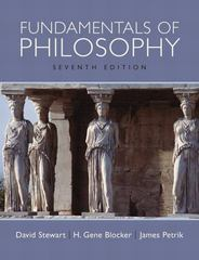 Fundamentals of Philosophy 7th edition 9780205647620 0205647626