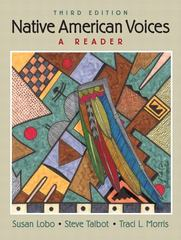 Native American Voices 3rd edition 9780205633944 0205633943