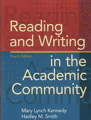 Reading and Writing in the Academic Community 4th edition 9780205689460 0205689469