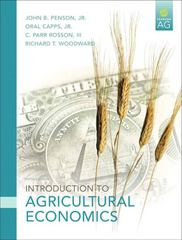 Introduction to Agricultural Economics 5th Edition 9780131592483 0131592483