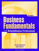 Business Fundamentals for the Rehabilitation Professional 2nd Edition 9781556428838 1556428839