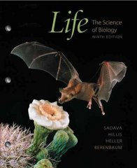 Life: The Science of Biology (Loose Leaf) 9th edition 9781429232531 1429232536