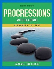 Progressions with Readings 8th Edition 9780205666041 0205666043