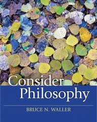Consider Philosophy 1st edition 9780205644223 0205644228