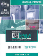 CPA Comprehensive Exam Review 2009-2010 38th edition 9781579616793 1579616798