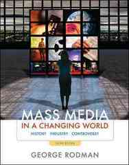 Mass Media in a Changing World 3rd edition 9780073511955 0073511951