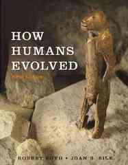 How Humans Evolved 5th Edition 9780393932713 0393932710