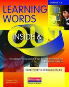 Learning Words Inside and Out, Grades 1-6 1st Edition 9780325026121 0325026122
